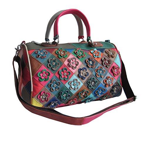 Amerileather Francienne Leather Handbag (#1922-9)