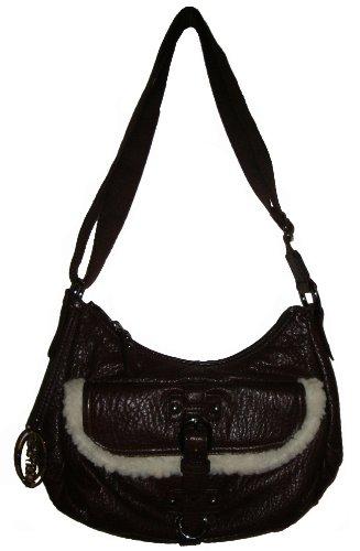 Kenneth Cole Women's/Girl's Reaction Crossbody Handbag, Chocolate