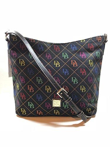 Dooney & Bourke Large Hobo Crossbody bag Black Multi