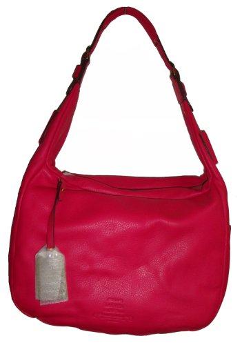 Lauren Ralph Lauren Women's Baldwin Zip Hobo Handbag, Petunia