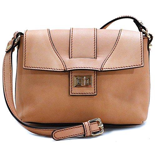 Floto Sapri Cross Body Bag in Vachetta Tan Leather