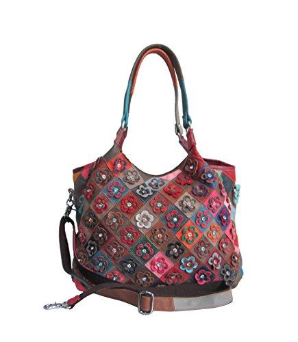 Amerileather Winstel Leather Tote Bag (#1925-9)
