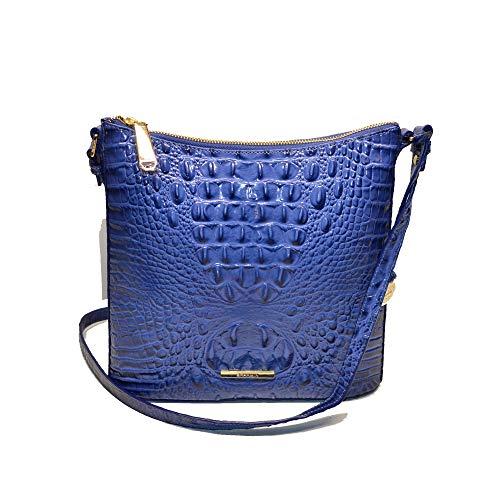 Brahmin Katie Croco Emb Leather Crossbody Bag Iris Melbourne