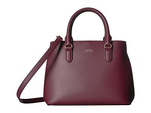 LAUREN Ralph Lauren Dryden Mini Marcy Merlot Rose Smoke Handbags