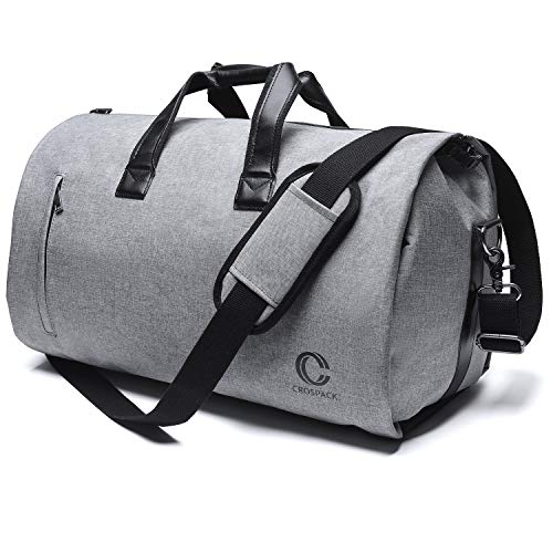 Crospack 45L Suit Garment Bag Shoulder Strap Duffle Travel Foldable Flight Bag