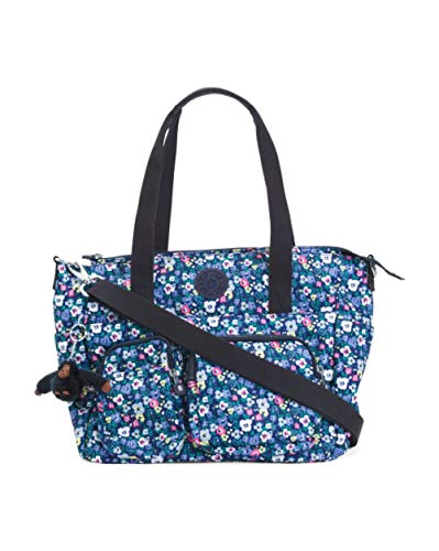 Kipling Sady Satchel Tote Shoulder Crossbody Bag ~ Bustling Petals