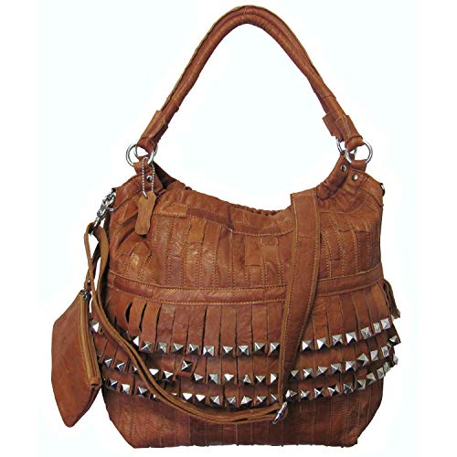 Studded Tutu Leather Handbag