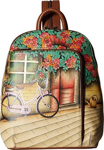 Anuschka Handbags Women's 487 Sling Over Travel Backpack Vintage Bike One Size