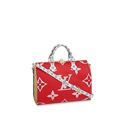 Louis Vuitton Giant Monogram Speedy Bandouliere 30 M44573 Rouge Bags Handbags Purse