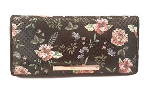 Brahmin Ady Wallet Black Thames floral Wallet