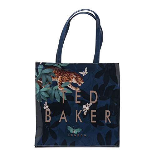 Ted Baker London Valacon Houdini Ted Letter Large Icon Tote Handbag in Navy