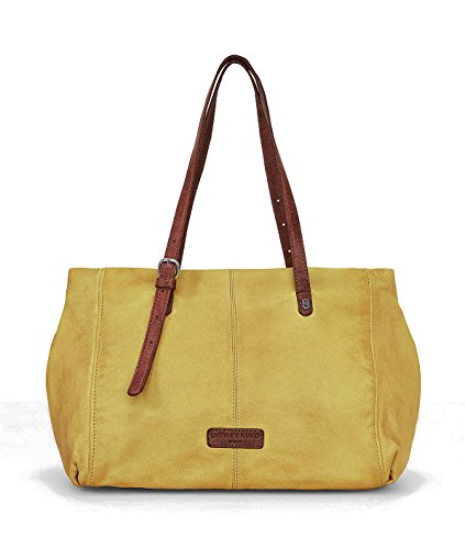 Liebeskind Berlin Tumble Wash Leather Satchel, Lime Green