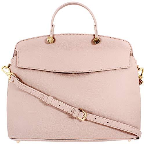 Furla My Piper Ladies Medium Beige Leather Top Handle Crossbody Bag 994124