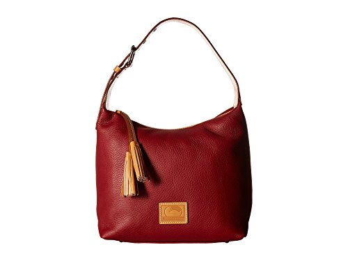 Dooney & Bourke Patterson Leather Paige Sac Hobo Wine