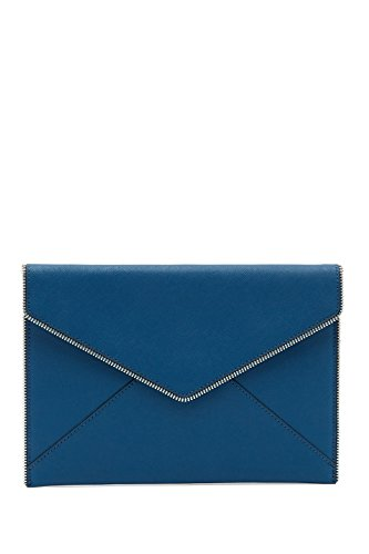 Rebecca Minkoff Leo Envelope Clutch, Lake Blue