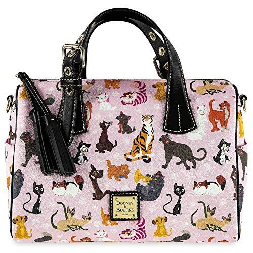 Disney Cats Barrel Satchel Handbag Purse by Dooney & Bourke