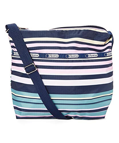 LeSportsac Beach Stripe Small Cleo Crossbody Handbag