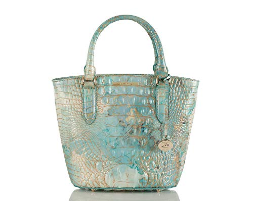 Brahmin Small Bowie Textured Leather Satchel, Serendipity Melbourne