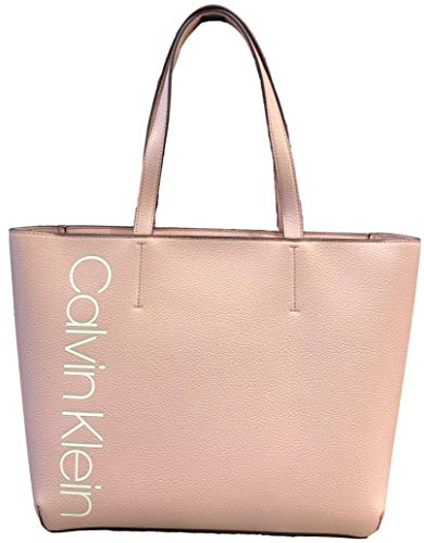 Calvin Klein Haley Signature Tote, Pink