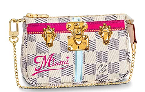 MIAMI WRISTLET MINI POCHETTE ACCESSORIES Louis Vuitton Summer Trunk Bag Pouch Clutch LTD