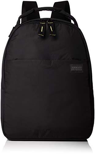 Armani Exchange Backpacks, Men's Backpack, Black (Nero), 40.0×13.5×30.0 cm (B x H T)