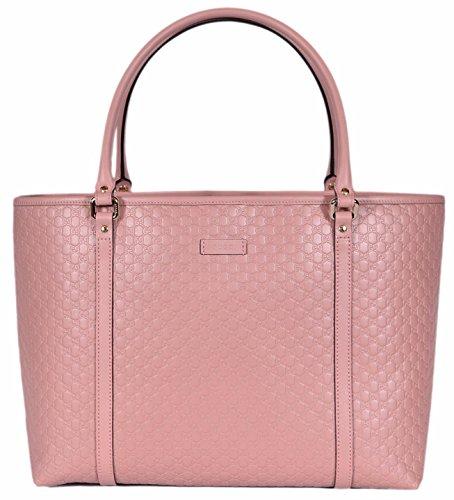 Gucci Women's Micro GG Guccissima Leather Joy Purse Tote (Soft Pink)