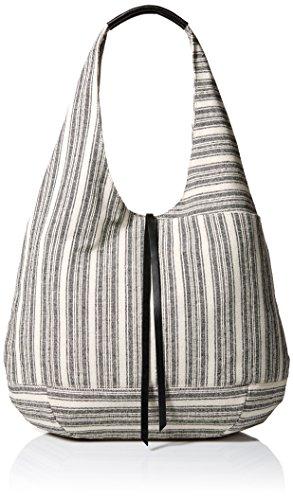 Lucky Brand Mia Hobo Bag, Black/Natura