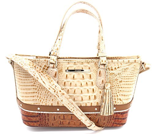 Brahmin Mini Asher Genuine Leather (Champagne Koubba)