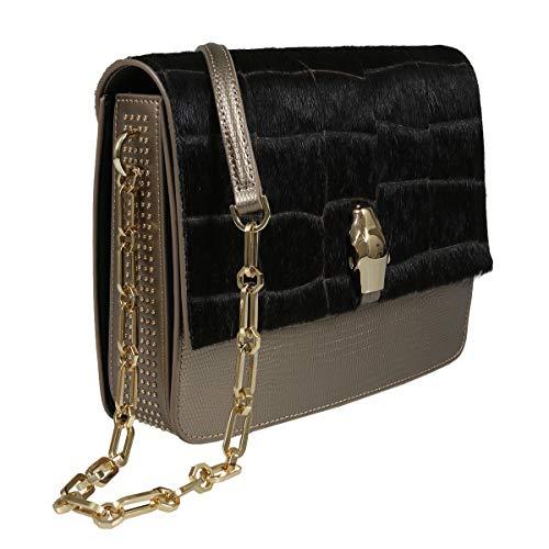 Roberto Cavalli HXLPG7 025 Brown Shoulder Bag for Womens