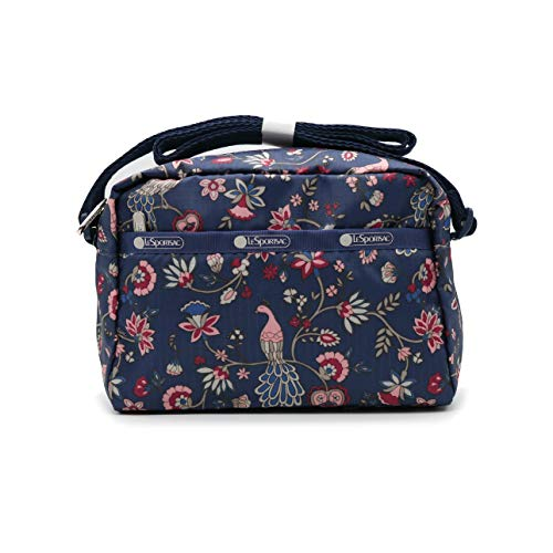 LeSportsac KR Exclusive Classic Collection Daniella Crossbody Minibag in Peacock Afternoon, Small