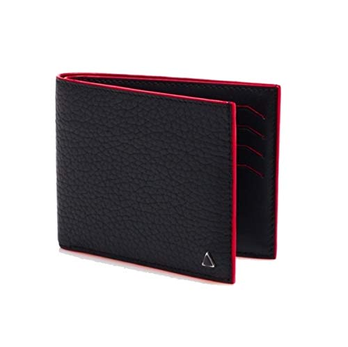 La Perfection Louis Made in FRANCE – Luxury Wallet – Black Gambetta Leather by ANONYME PARIS