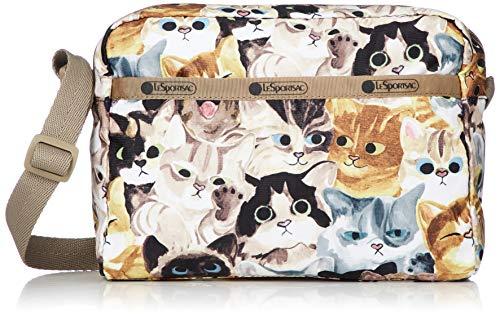 LeSportsac Cat Cafe Bene Daniella Crossbody Handbag, Style 2434/Color K812
