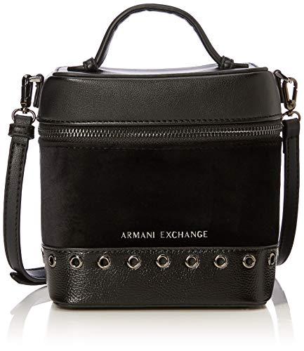 Armani Exchange Cross-body Bag, Women's Black (Nero), 17.0×12.0x15.0 cm (B x H T)