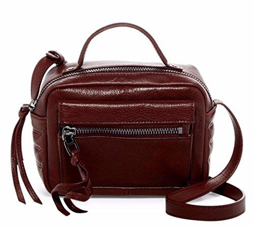 Kooba Liv Paprika Leather Mini Camera Crossbody Bag
