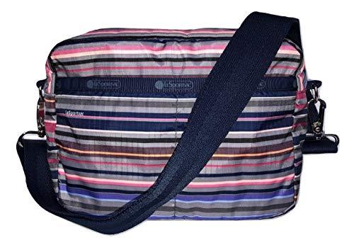 LeSportsac Barre Austin Crossbody Handbag Detachable/Adjustable/Interchangeable Strap Metal Hardware