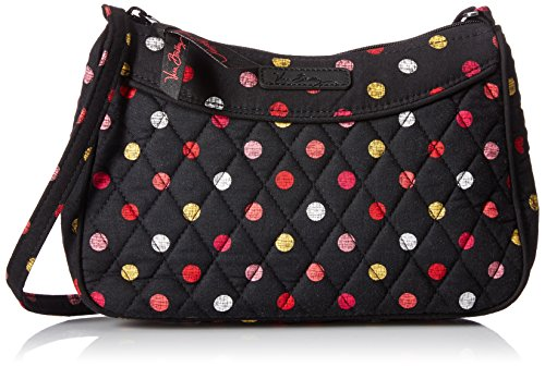 Vera Bradley Little Crossbody, Havana Dots