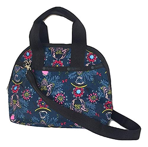 LeSportsac Evening Blues Amelia Convertible Crossbody & Top Handle Tote Handbag