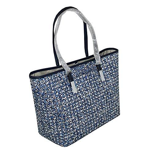 MICHAEL Michael Kors Women's Jet Set Travel LARGE Leather Carry All Tote Handbag
