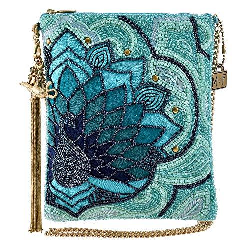 MARY FRANCES Palace Peacock, Disney Live Action Aladdin Beaded Crossbody Handbag