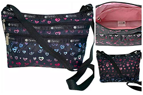 LeSportsac Heart Beat Quinn Crossbody Handbag, Style 3352/Color D995