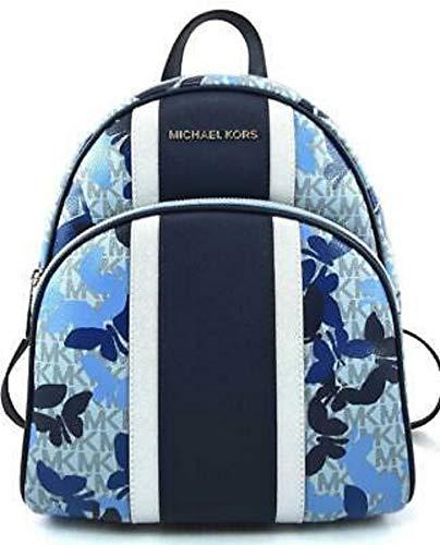 MICHAEL Michael Kors Abbey MD Butterflies Sapphire Blue Backpack Handbag