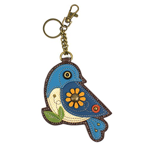 Chala Key Fob/Coin Purse – Blue Bird