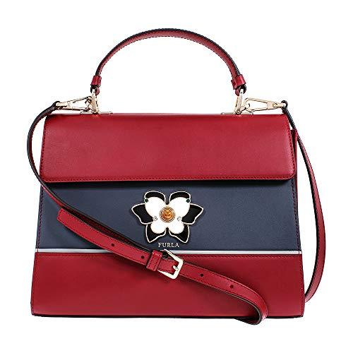 Furla Mughetto Ladies Small Ciliegia Leather Crossbody Bag 977226
