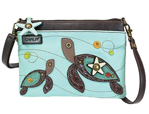 Chala Sea Turtles Mini Crossbody Handbag – Turtle Lovers Gift