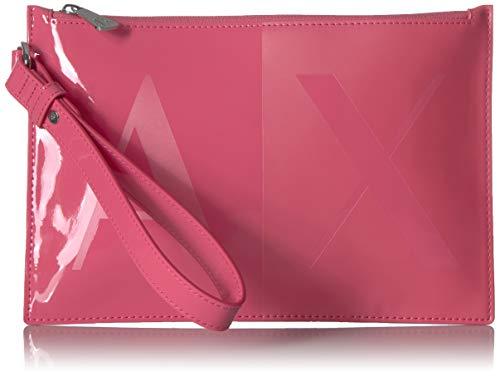 A|X Armani Exchange Two Tone Pouch, pink