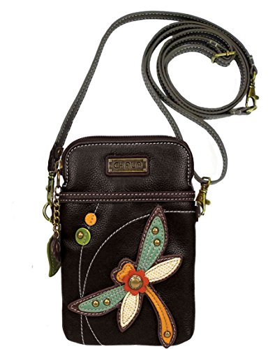 Chala Dragonfly Cellphone Crossbody Handbag – Convertable Strap