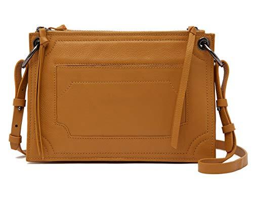 Kooba Laguna Amber Leather Crossbody Bag