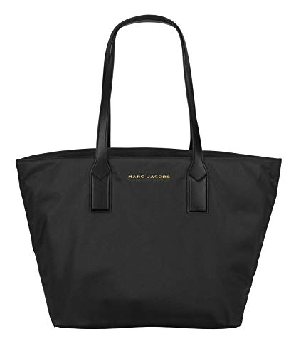 Marc Jacobs Womens Nylon Tote Handbag – Black (Size 1SZ)
