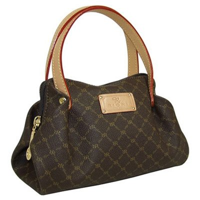 Signature Evening Bag in Brown