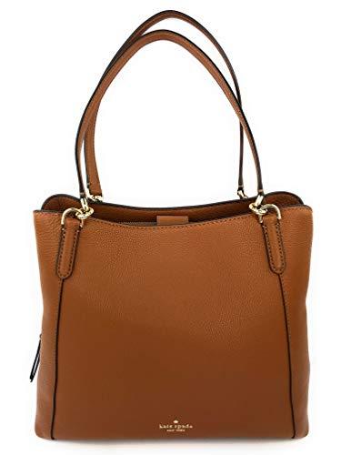 Kate Spade Purse Warm Gingerbread Jackson Medium Triple Compartment Shoulder Bag